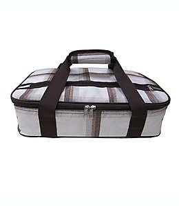Bolsa térmica Bee & Willow™ para refractario color gris