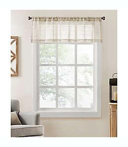 Cenefa para cortina Colordrift Inez color natural
