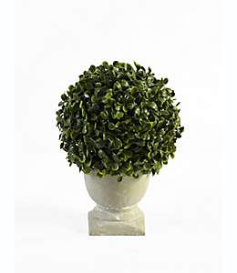 Árbol artificial con maceta natural de 24.13 cm