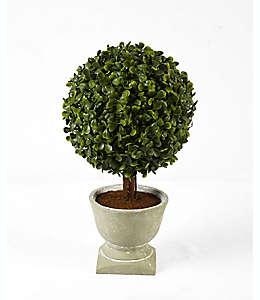 Árbol artificial con maceta natural de 33.02 cm