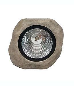 Lámpara de piedra solar de resina Destination Summer