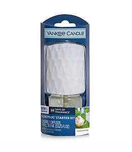 Difusor de aromas Yankee Candle® ScentPlug® con repuesto Clean Cotton®