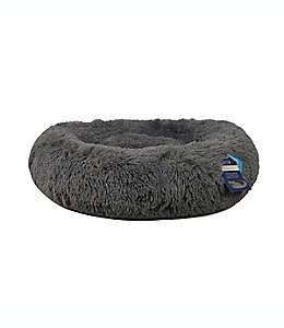 Cama para mascotas Calming Vegan color gris carbón