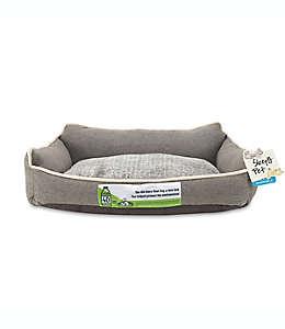 Cama grande para mascotas Sleepy Bed con respaldo alto en cacao