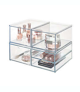 Organizador de plástico iDesign™ para cosméticos tipo cajón