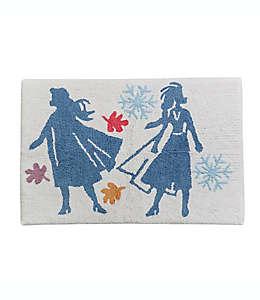 Tapete para baño de algodón Disney® Frozen color azul