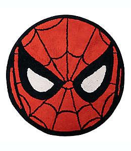Tapete para baño de algodón Marvel® Spiderman color rojo