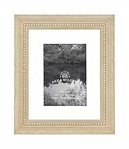Portarretratos con borde perlado Bee & Willow™ Home color natural