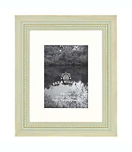 Portarretratos con borde perlado Bee & Willow™ Home color gris verdoso