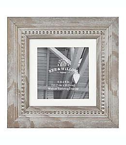 Portarretratos de madera Bee & Willow™ Home color gris Austin