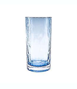 Vaso de vidrio Bee & Willow™ color azul