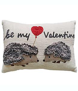 Cojín decorativo de algodón Be My Valentines