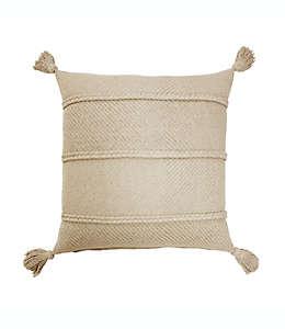 Cojín decorativo de algodón Bee & Willow™ Home color peyote