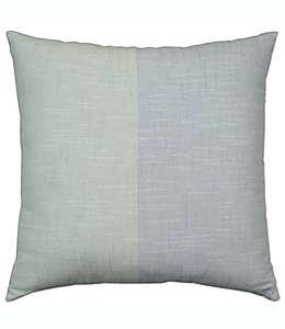 Cojín decorativo de algodón Bee & Willow™ Home color verde azulado/menta