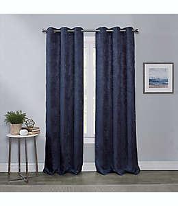 Cortinas blackout Townsend de 2.13 m color azul marino