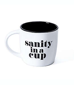 """Taza """"Sanity in a cup"""" GiftCraft® color blanco"""