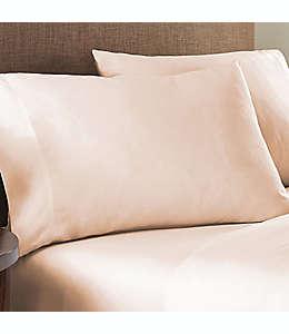 Fundas estándar de algodón para almohadas Nestwell™ color rosa, Set de 2