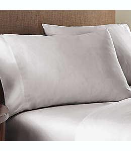 Fundas estándar de algodón para almohadas Nestwell™ color gris niebla, Set de 2