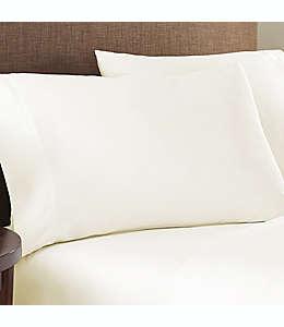Fundas estándar de algodón para almohadas Nestwell™ color marfil, Set de 2