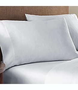 Fundas king de algodón para almohadas Nestwell™ color gris lunar, Set de 2