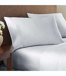 Set de sábanas individuales de algodón NestWell™ de 180 hilos color gris lunar