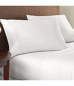 Set de sábanas king de algodón NestWell™ de 180 hilos color blanco