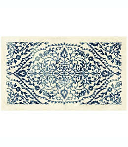 Tapete decorativo de poliéster Maples™ Rebecka de 50.8 x 86.36 cm color azul