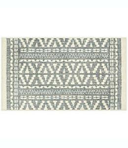 Tapete decorativo de poliéster Maples™ Joane de 50.8 x 86.36 cm color gris