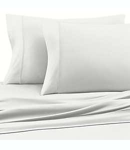 Set de sábanas matrimoniales de poliéster Clean Start color blanco