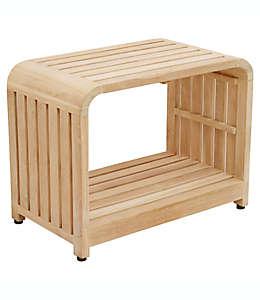 Banco de madera de teca Haven™ para baño