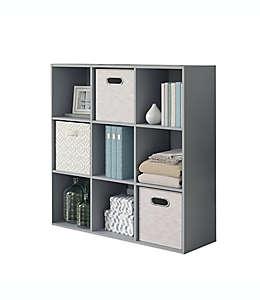 Organizador Simply Essential™ de 9 compartimentos color gris