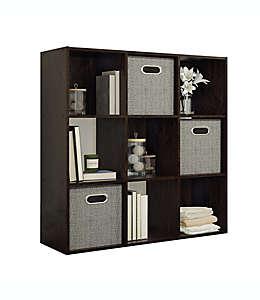 Organizador Simply Essential™ de 9 compartimentos color espresso