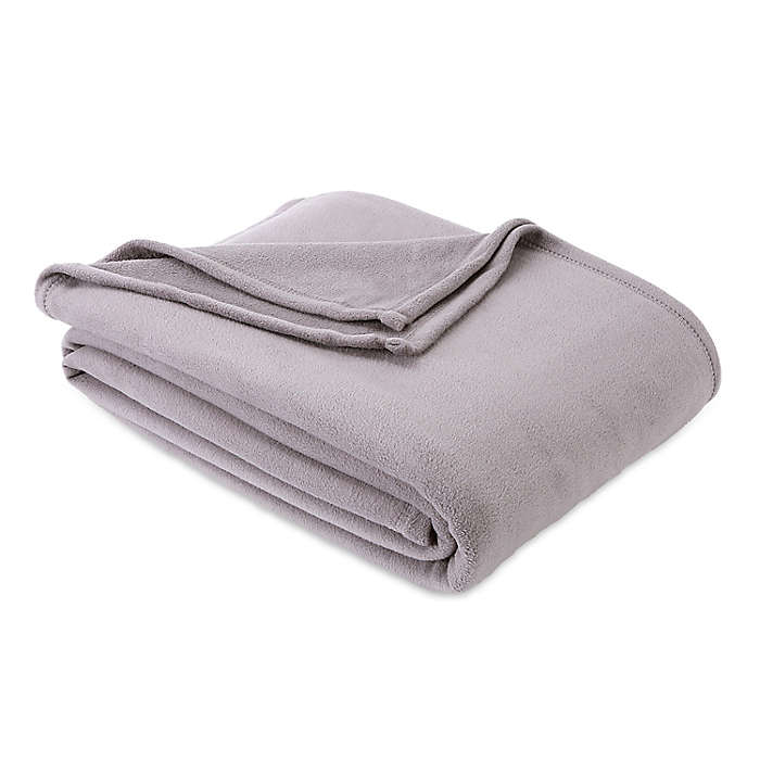 Cobertor individual Simply Essential™ color gris humo