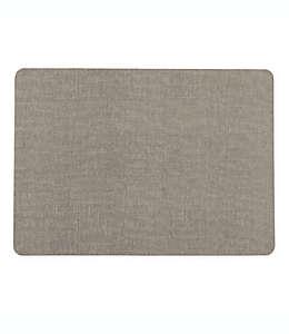Mantel individual Simply Essential™ de textura lisa color gris