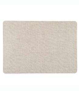 Mantel individual de PVC Simply Essential™ de textura lisa color natural