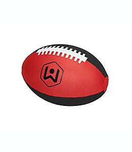 Balón de fútbol americano de tela Wicked Big™ Sports color rojo/negro