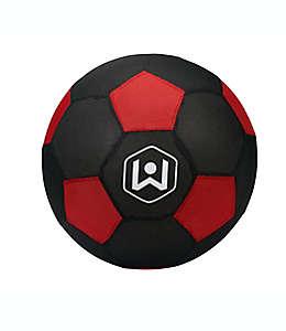 Balón de fútbol soccer de tela Wicked Big™ Sports color rojo/negro