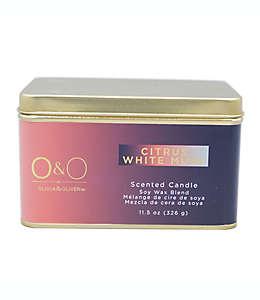 Vela en lata O&O by Olivia & Oliver™ Citrus White Mush™