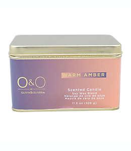 Vela en lata O&O by Olivia & Oliver™ Warm Amber™