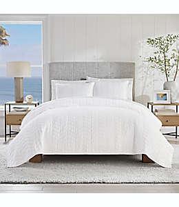 Set de colcha king de algodón UGG® Dawn color blanco