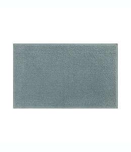 Tapete para baño de algodón orgánico Haven™ Chunky Loop color gris cielo