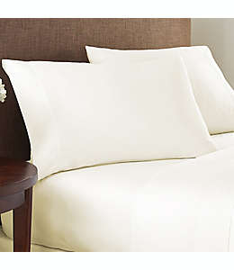 Sábana de cajón individual XL de algodón NestWell™ de 400 hilos color blanco garceta