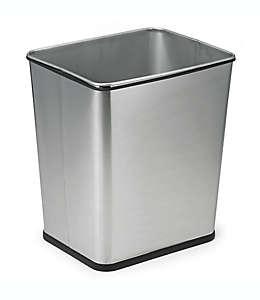 Bote de basura de acero, 7 galones