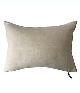Cojín decorativo de lino Bee & Willow™ Home color blanco