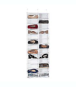 Zapatera de PVC Simply Essential™ para puerta con 26 compartimentos
