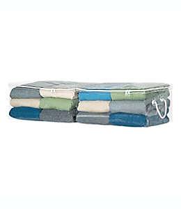 Bolsa protectora de PVC para suéteres Simply Essential™ transparente, Set de 2
