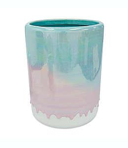 Bote de basura de cerámica Wild Sage™ Colorwash