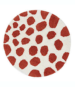 Tapete para baño de algodón Marmalade™ con diseño de jirafa