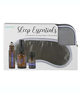 Kit de antifaz para dormir SpaRoom® color gris