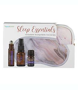 Kit de antifaz para dormir SpaRoom® color morado
